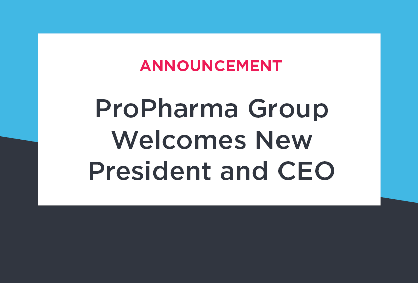 ProPharma Group Announces New President / CEO